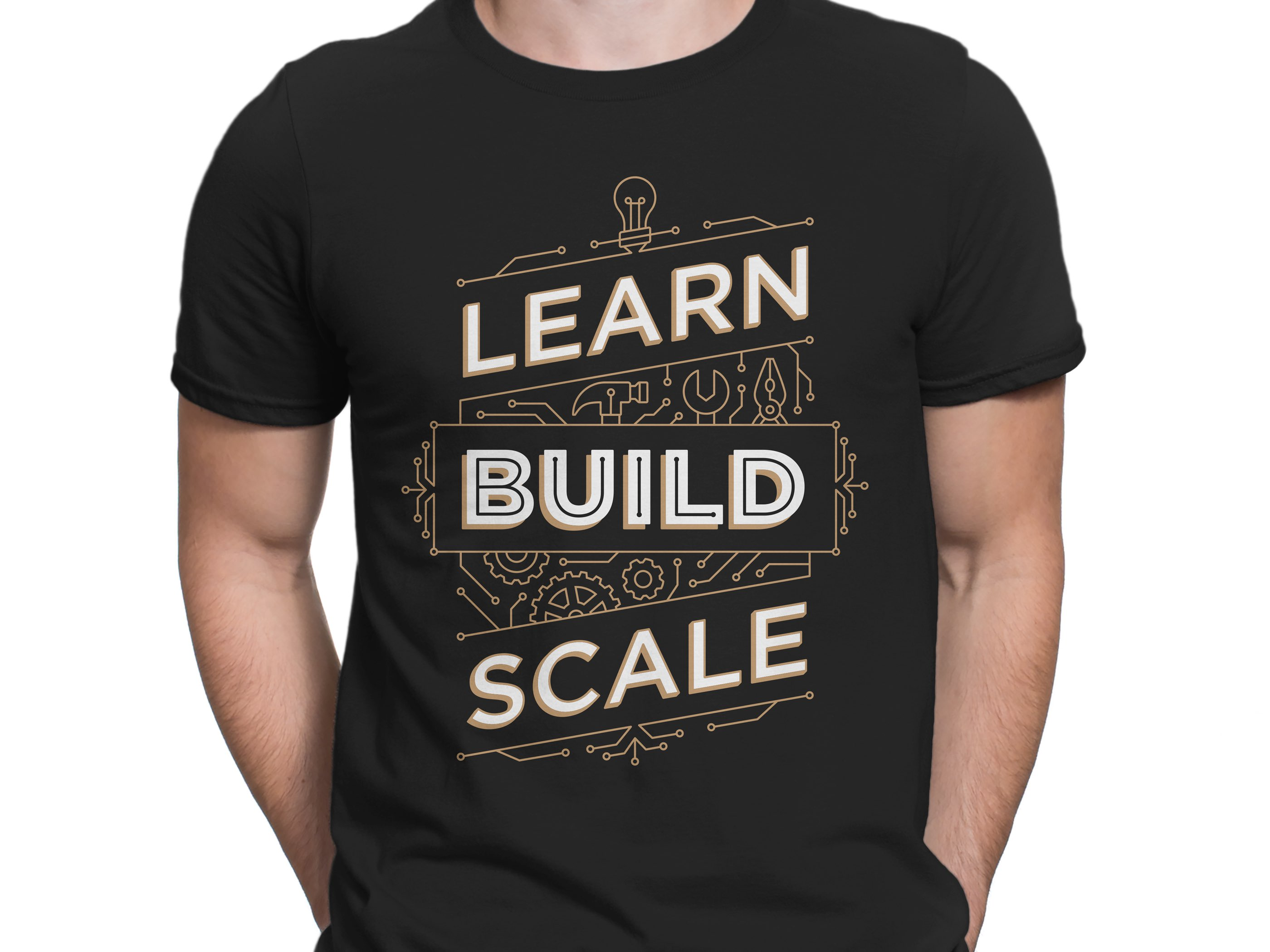 Learn Build Scale Shirt